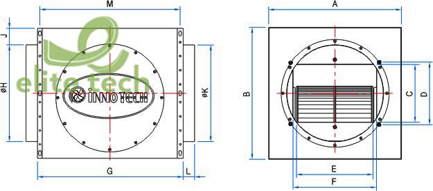 Máy Thổi Khí INNOTECH ITC-300GS, ITC-300GT, ITC-380HS, ITC-380HT, ITC-400GT