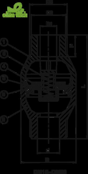 Van Nhựa SHIEYU - Van Một Chiều SHIEYU JC Series