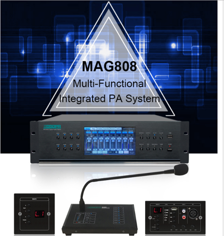 MAG808 Audio Matrix System