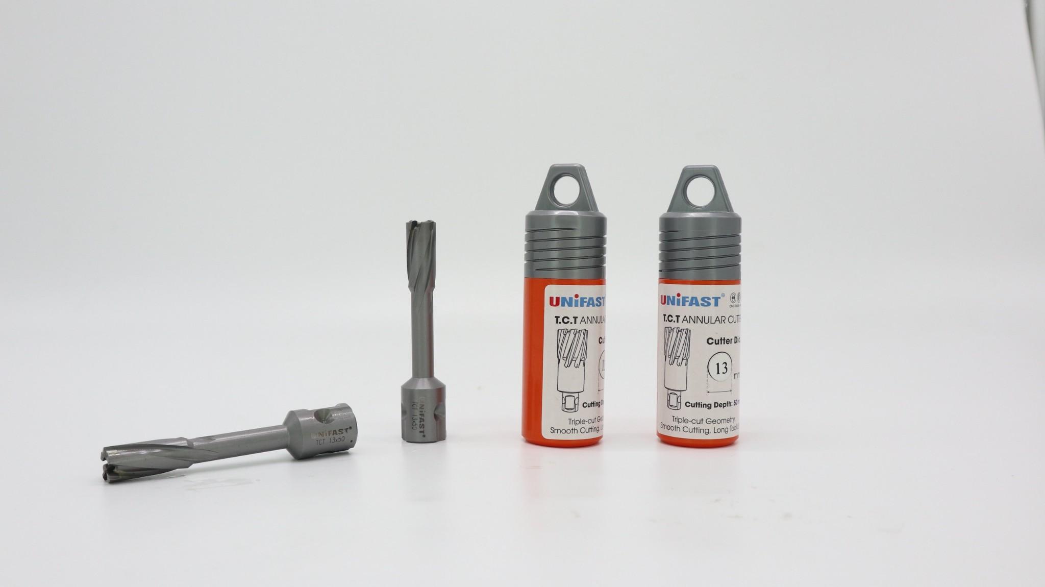Mũi khoan sắt Unifast TCT 13x50