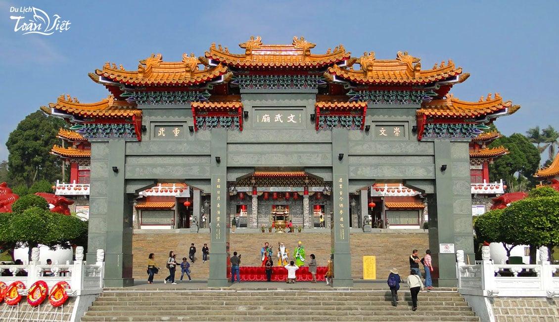 Đền thờ Khổng Tử du lịch Đài Loan