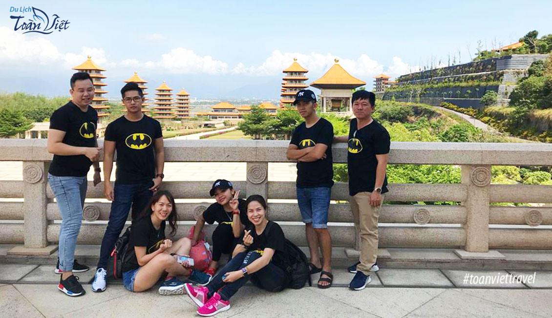 Du lịch Đài Loan Phật Quang Sơn Tự