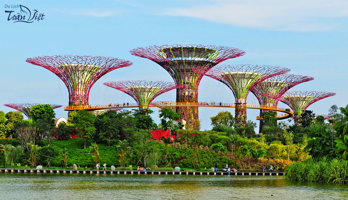 Tour du lịch Singapore Garden by the bay