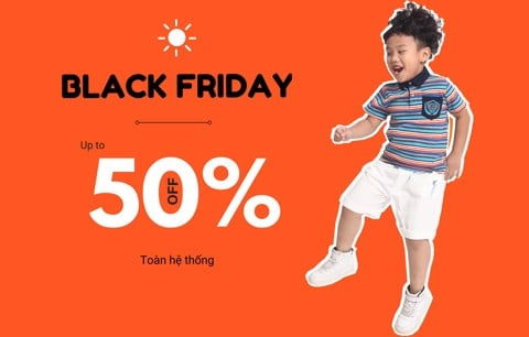 Black Friday 2018 - Sale up to 50% toàn hệ thống Rabity