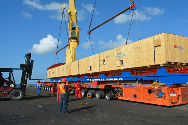 Project cargo handling
