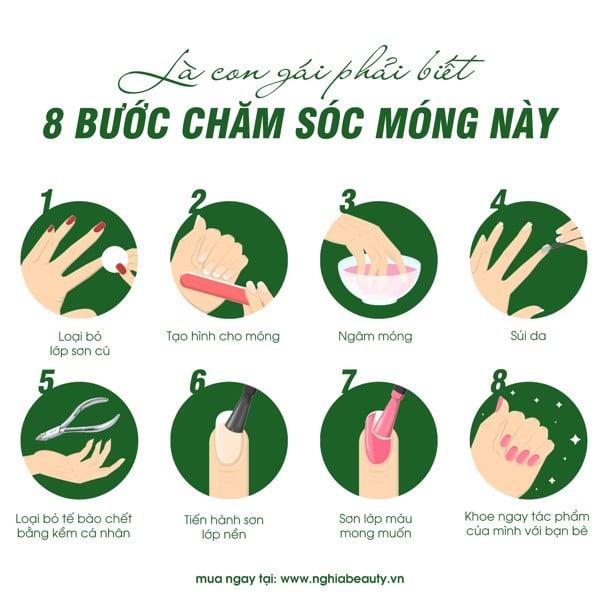 Cach-Son-Mong- Tay-Tai-Nha-Co-Ban-NghiaBeauty-Kem-Nghia
