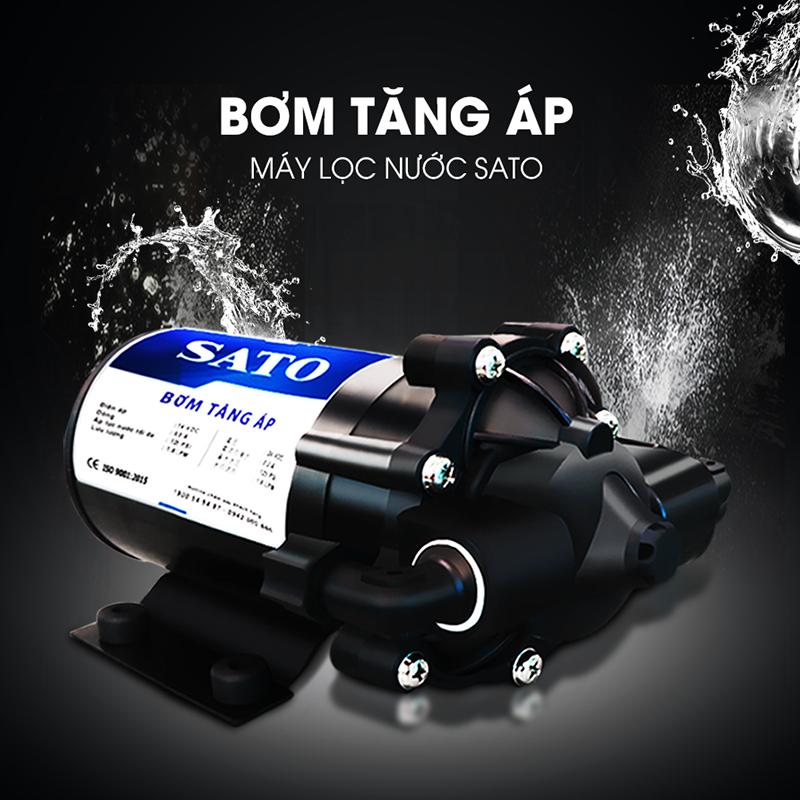 Bơm tăng áp máy lọc nước SATO PRO - Hoạt động hiệu quả, nâng tầm chất lượng-1