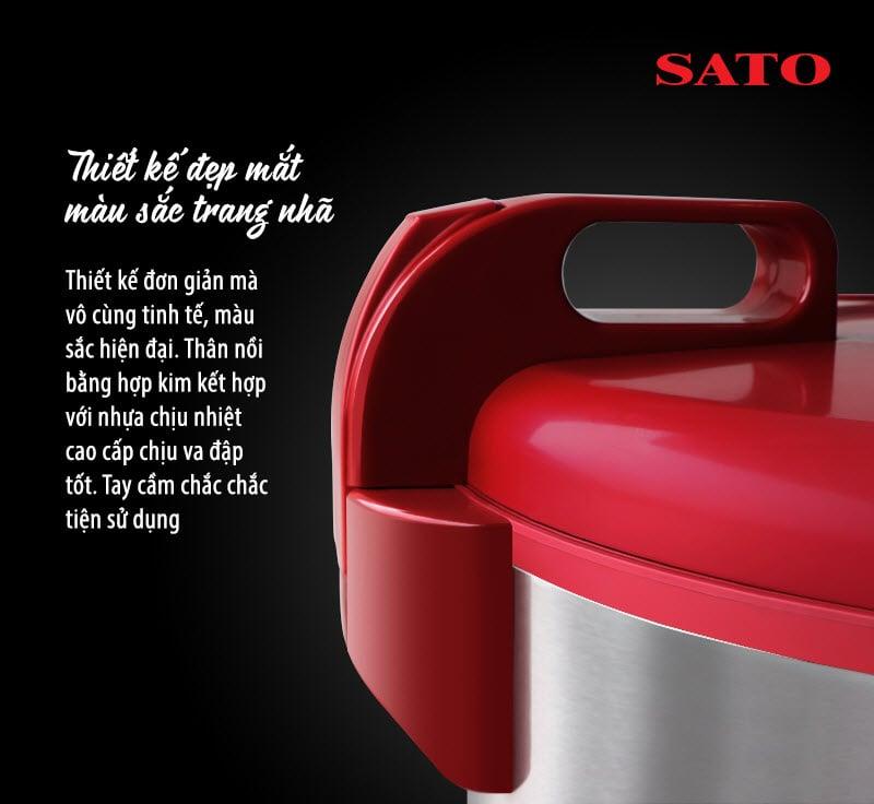 Nồi cơm điện Sato S60-60P 5.6L 6