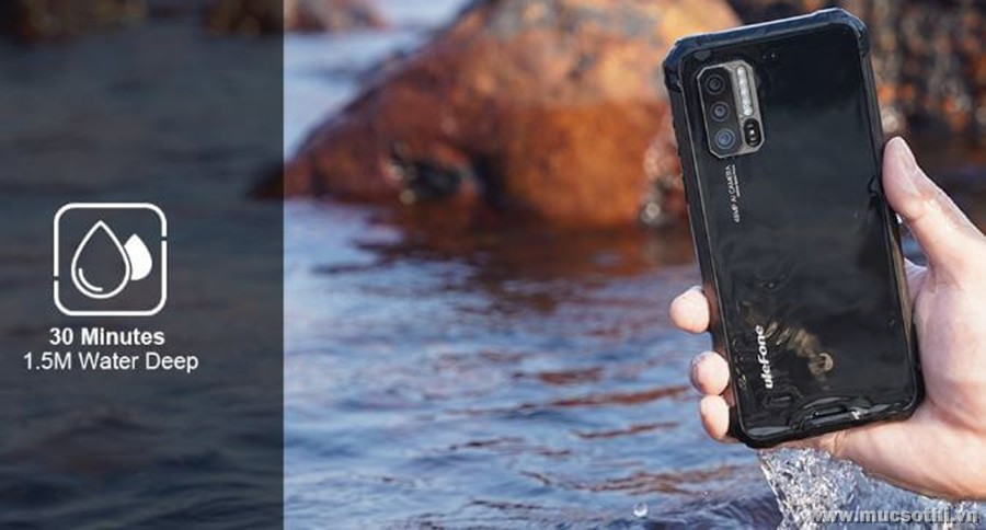 Vì sao smartphone siêu bền Ulefone Armor 7 có Ram 8GB luôn cháy hàng - 09873.09873
