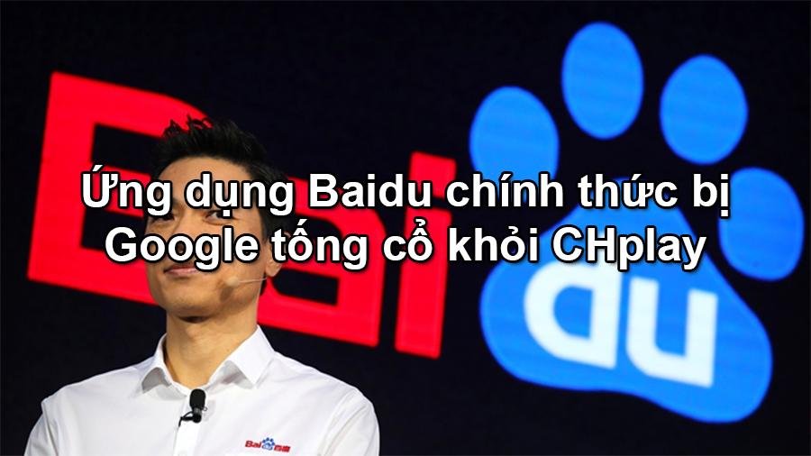 Thu thập thông tin người dùng ứng dụng Baidu đã bị Google tống cổ - 09873.09873