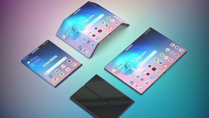 Mục sở thị Samsung đang phát triển smartphone màn hình gập thế hệ mới - 09873.09873