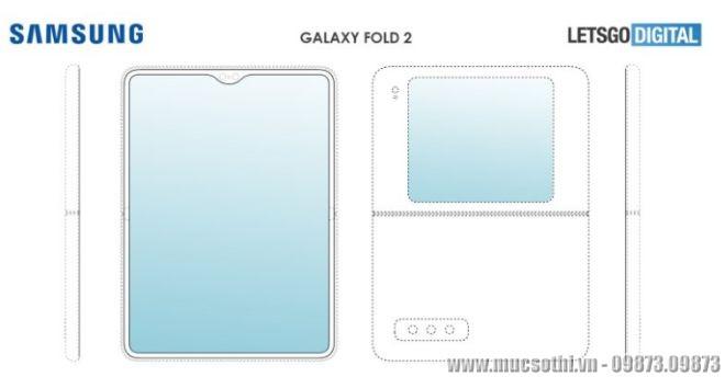 Mục sở thị Galaxy Fold 2 gập mới của Samsung mở ra là thành Tablet - 09873.09873
