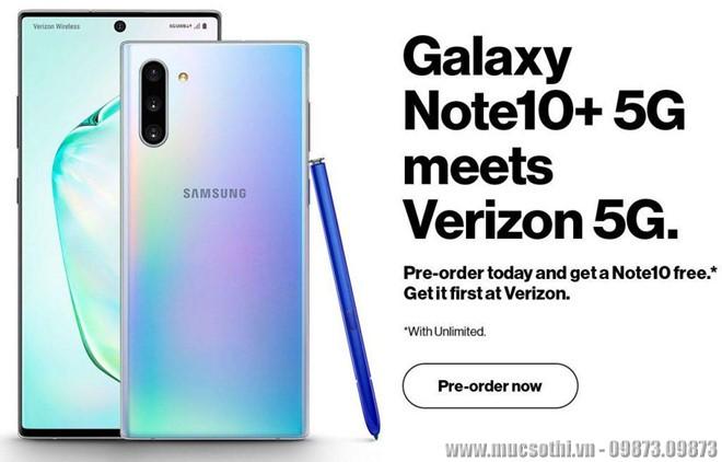 Mục sở thị cấu hình chi tiết Galaxy Note 10 có 5G vừa được tiết lộ bởi nhà mạng ở Mỹ - 09873.09873