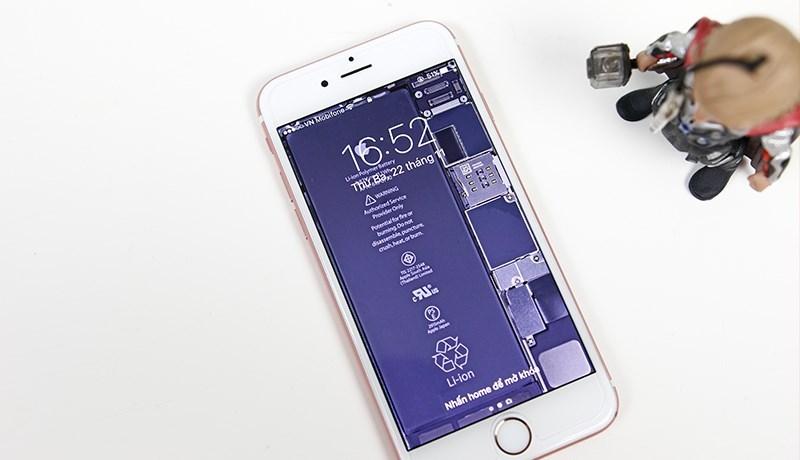 Mục sở thị bộ hình nền iPhone trong suốt nhìn xuyên nội thất máy tải về dùng ngay - 09873.09873