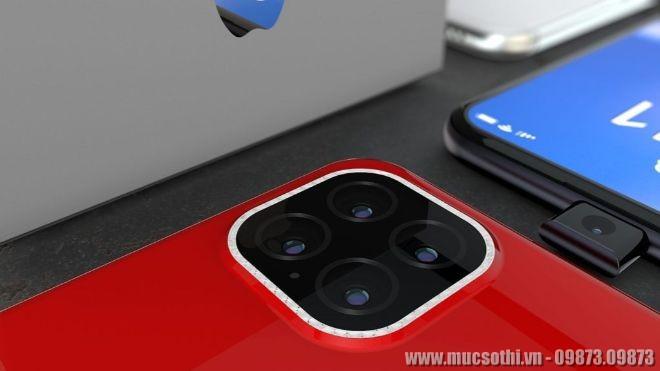 Mục sở thị ý tưởng mẫu iPhone 11 Pro với camera Selfie thụt thò hơi quen - 09873.09873