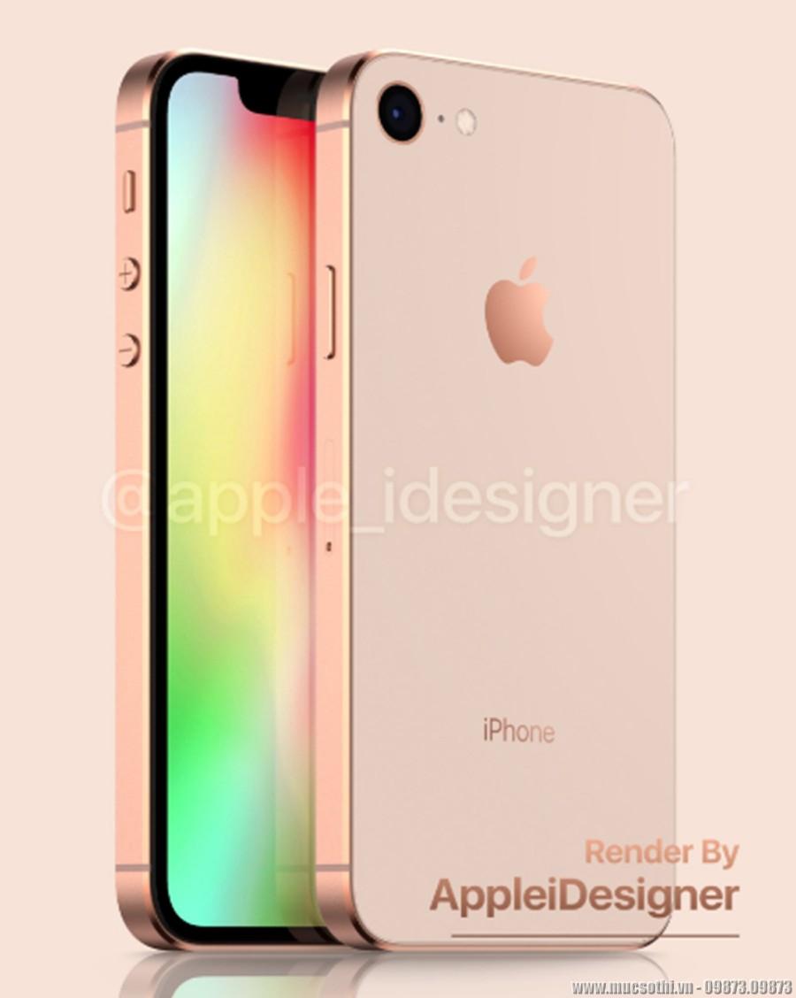 Lác mắt khi mục sở thị ảnh iPhone SE 2 - Phiên bản thu nhỏ của iPhone X - 09873.09873