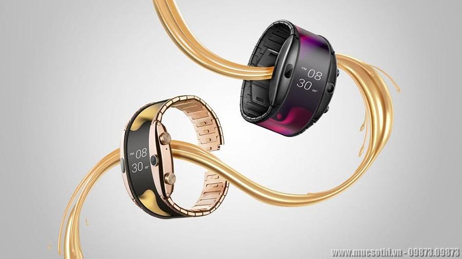 Mục sở thị smartphone có thể uốn cong dùng như đồng hồ đeo tay tiện lợi - 09873.09873