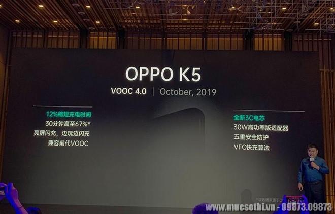 Mục sở thị Oppo K5 lộ diện với 4 camera, sạc nhanh 30W, giá cực chất - 09873.09873