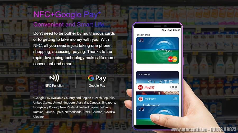 smartphonestore.vn - bán lẻ giá sỉ, online giá tốt điện thoại ulefone power 3l pin khủng chính hãng - 09175.09195