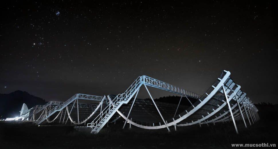 Chấn động vơi phát hiện sóng radio bí ẩn lan truyền trong dải Ngân Hà - 09873.09873
