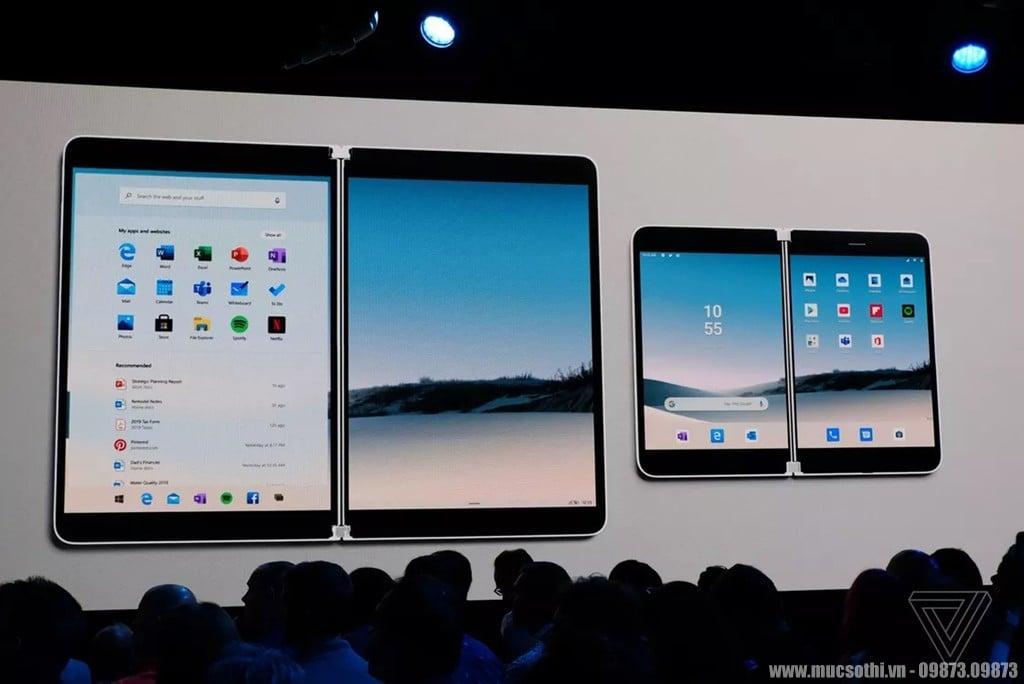 Surface Duo - Di động màn gập, đẹp gọn như cuốn sổ đe dọa Mate X - 09873.09873
