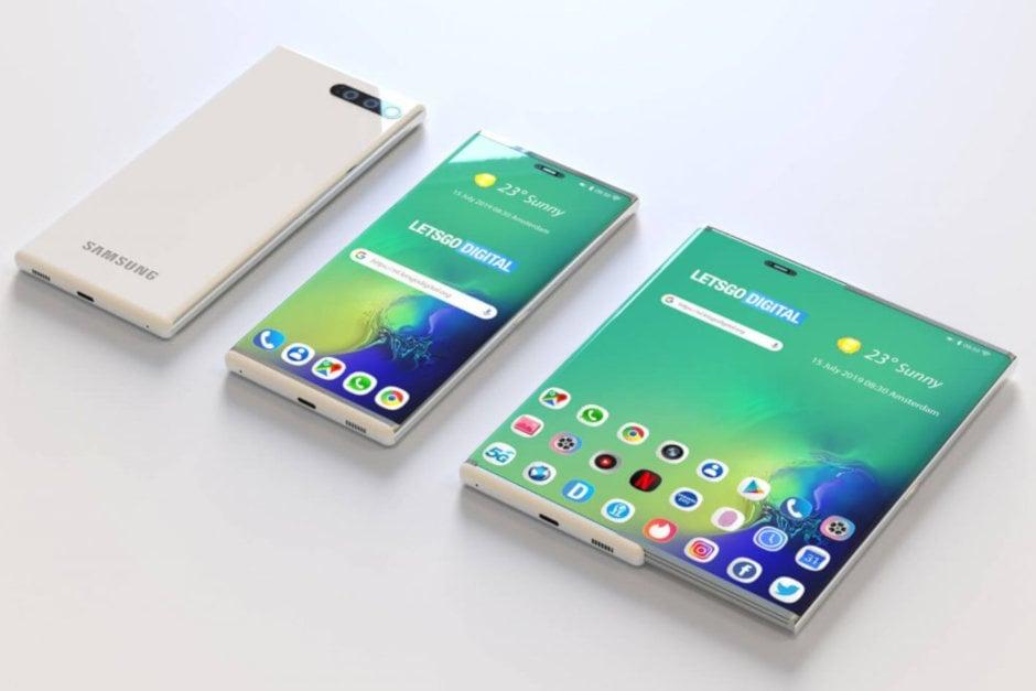 Mục sở thị Samsung đăng ký sáng chế smartphone màn hình trượt thành tablet - 09873.09873