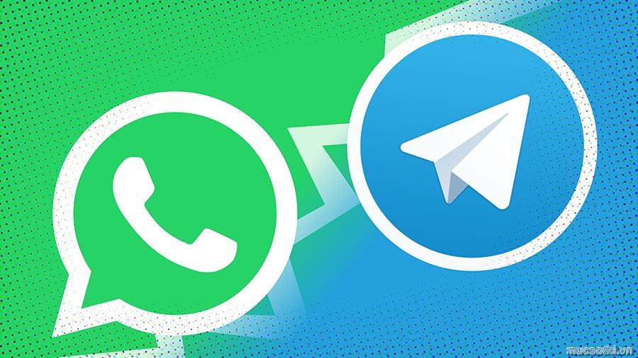 Giờ đây từ Whatsapp bạn có thể chuyển lịch sử trò chuyện sang Telegram - 09873.09873