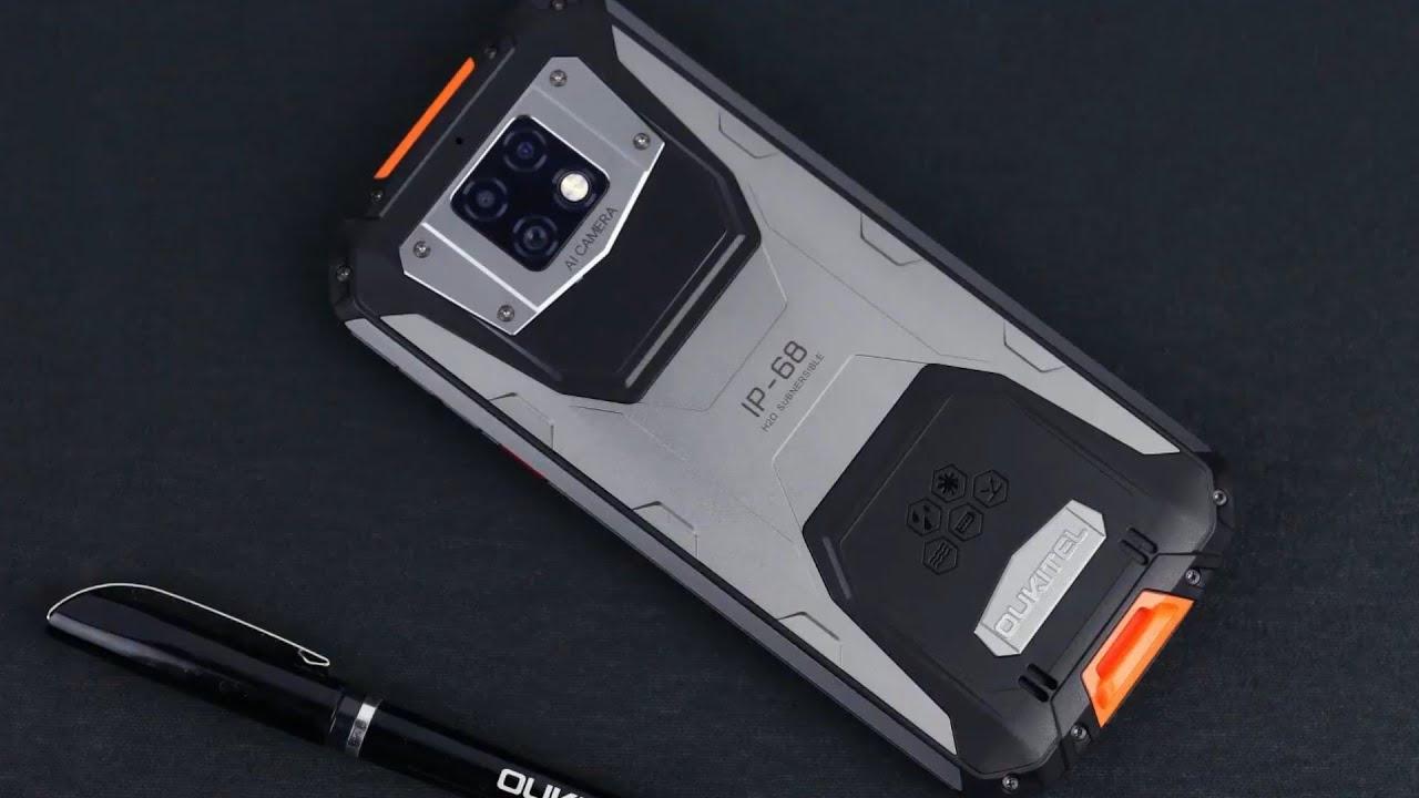 Oukitel WP6 smartphone pin khủng 10000mAh siêu bền thách thức tra tấn - 09873.09873