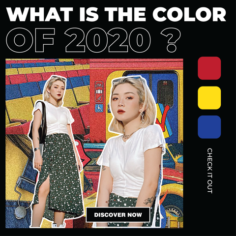 WHAT IS THE COLORS OF 2020?