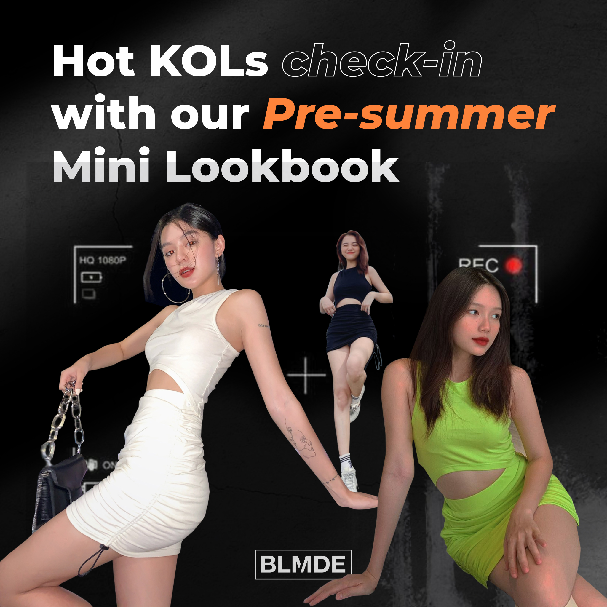 theo chan nhung co nang hot kols kham pha pre summer mini lookbook cua bloomode