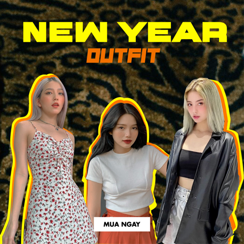 3  OUTFITS FOR LUNAR NEW YEAR