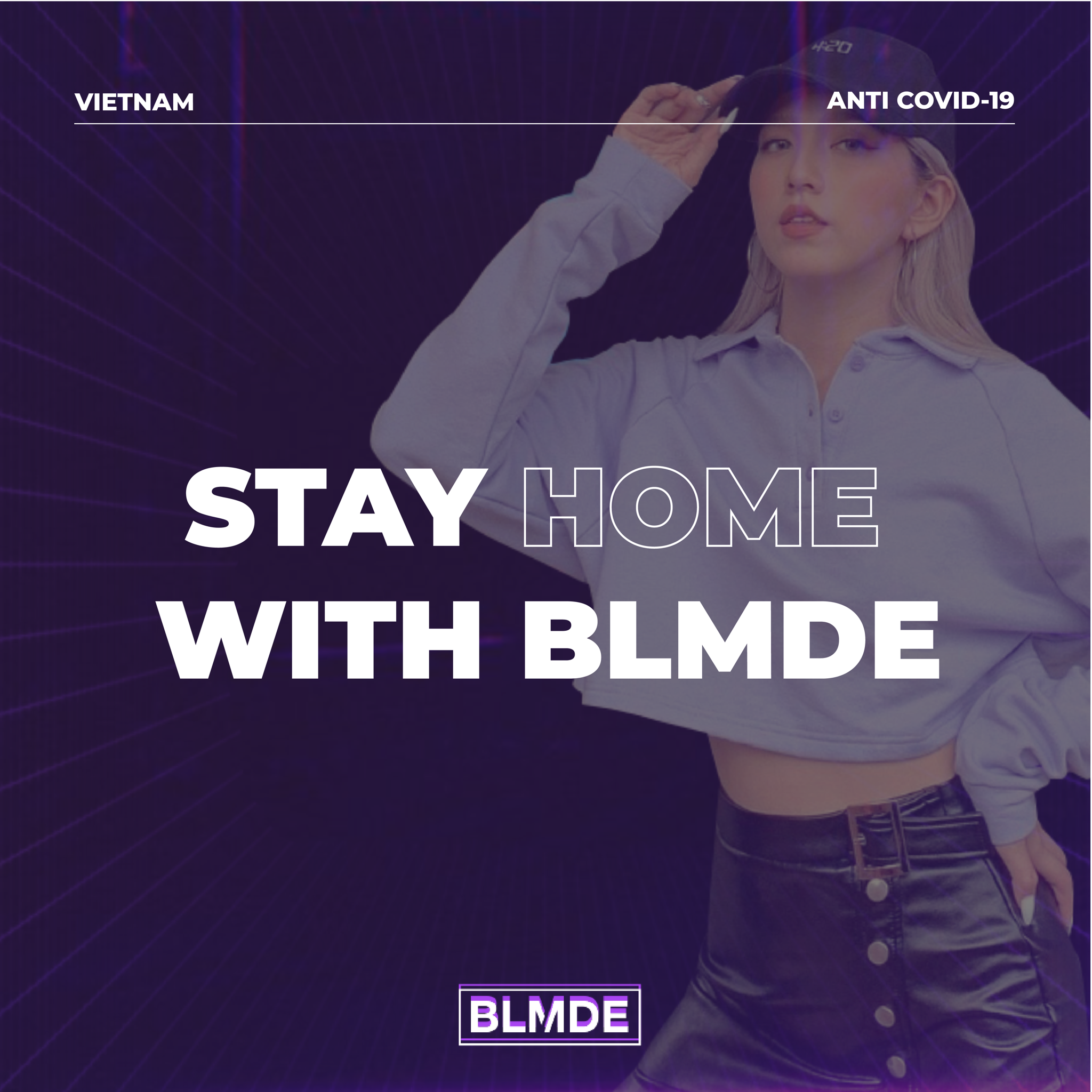 stay home with blmde