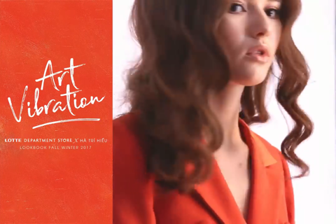 FW17 Lookbook | Art Vibration | Lotte Department Store x Hà Trí Hiếu