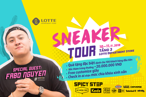SNEAKER TOUR - New Playground for Sneaker Lovers