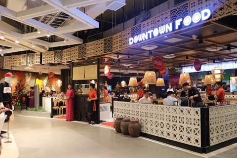 DOWNTOWN FOOD – GIAO LỘ ẨM THỰC TẠI LOTTE DEPARTMENT STORE