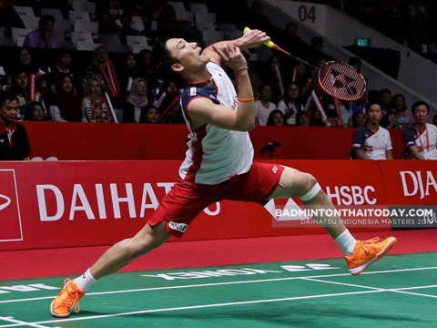 Video Bảng B World Tour Finals 2018: Kento Momota vs Sameer Verma