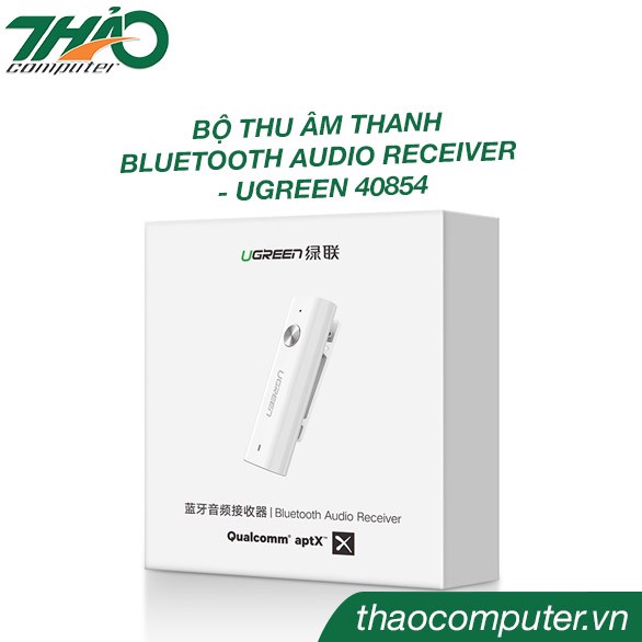 Bo thu am thanh bluetooth audio receiver ugreen 40854