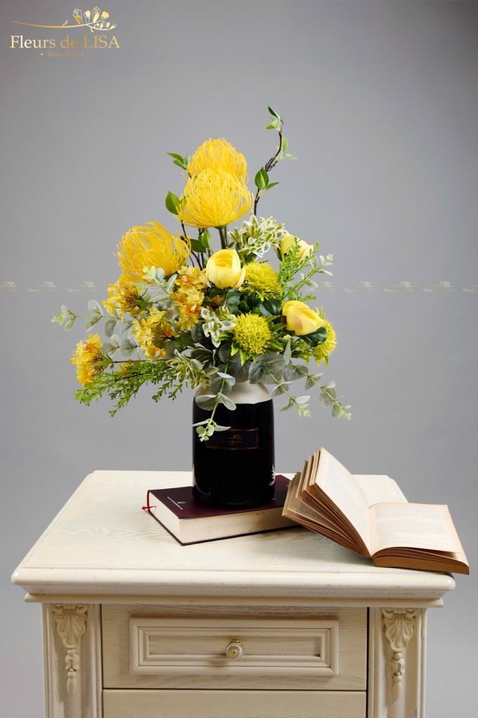 hoa lụa cao cấp giá cả phù hợp