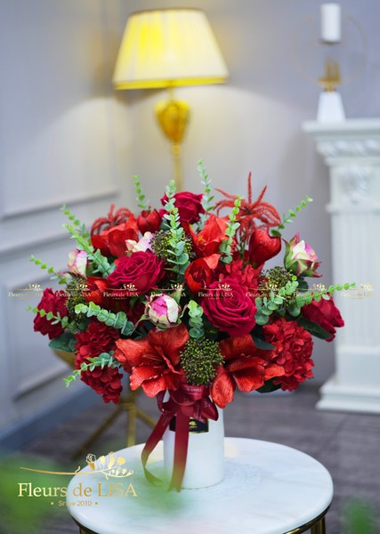 Hoa lụa valentine