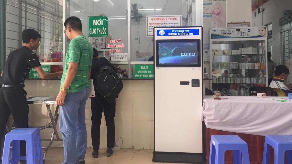kiosk lay so thu tu cho benh vien