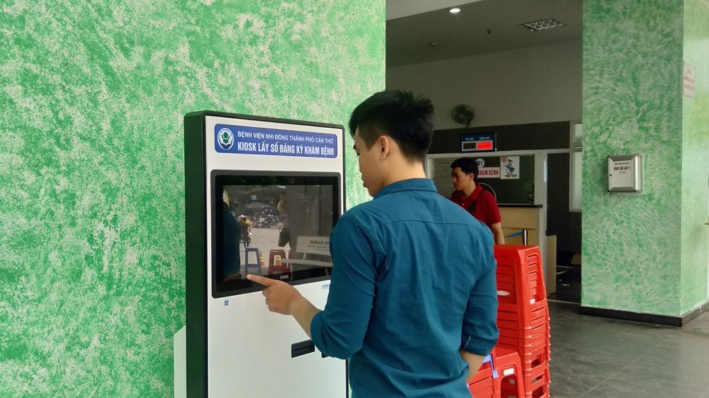 kiosk lay so thu tu tu dong qms