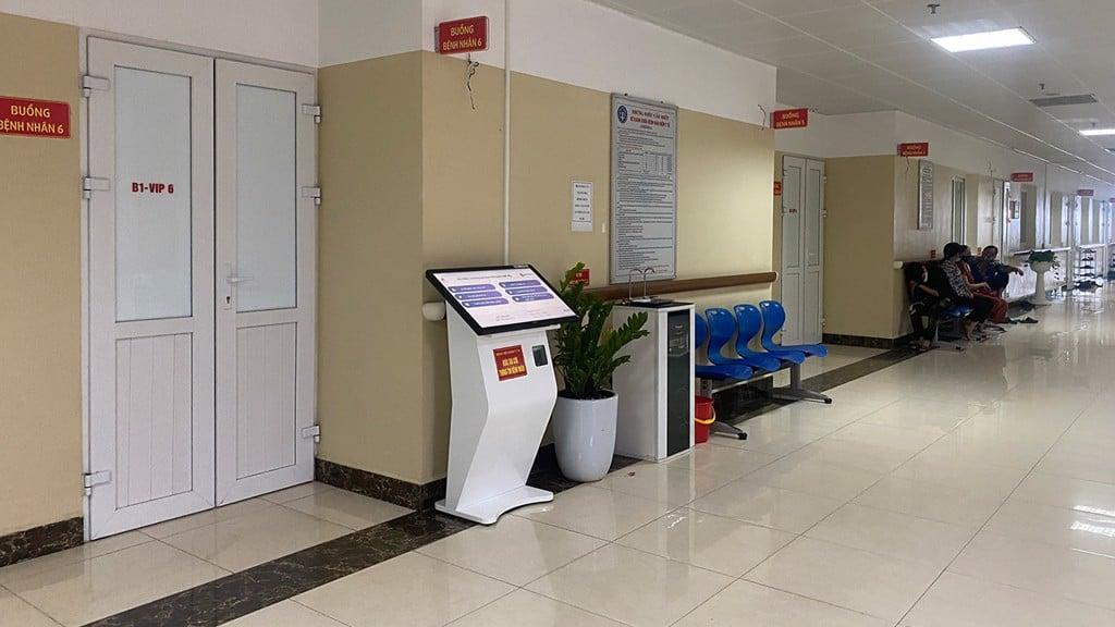 kiosk tra cuu ban do trong benh vien