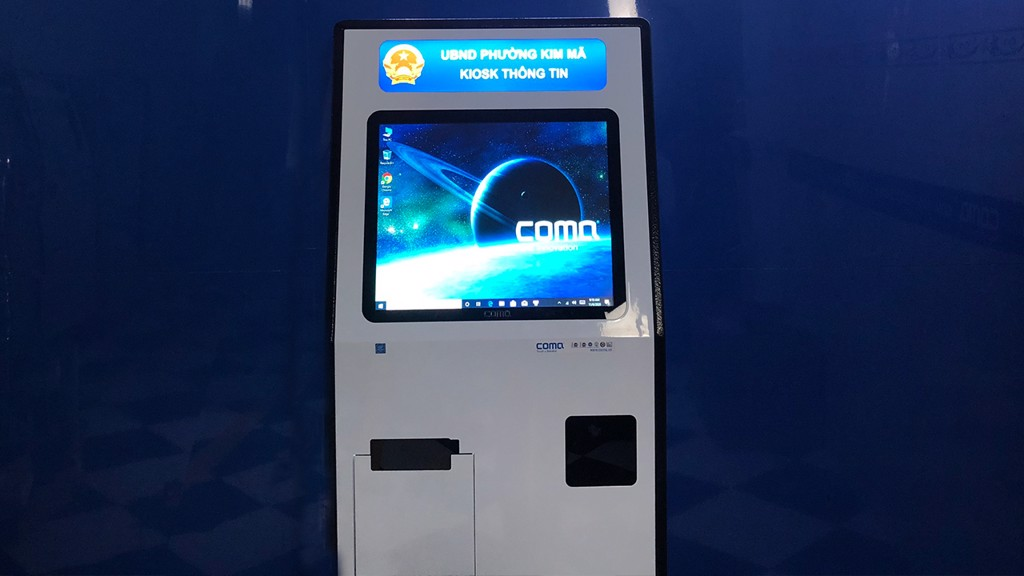 kiosk tra cuu hanh chinh cong kim ma ha noi