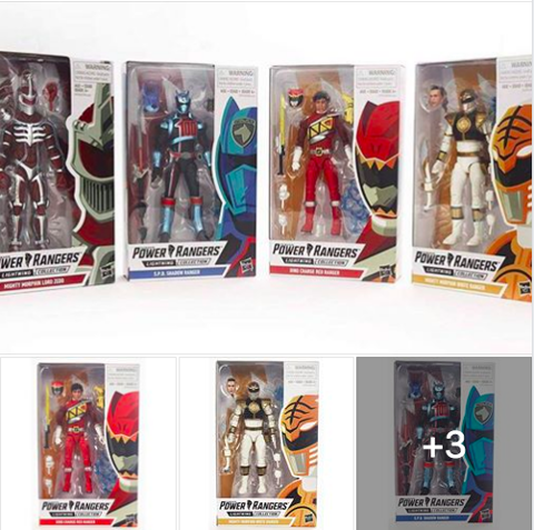 Mua đồ chơi mô hình Hasbro Power Rangers Lightning Collection Mighty Morphin Lord Zedd, Dino Charge Red Ranger, SPD Shadow Ranger, Mighty Morphin White Ranger giá rẻ chính hãng HCM Hà Nội