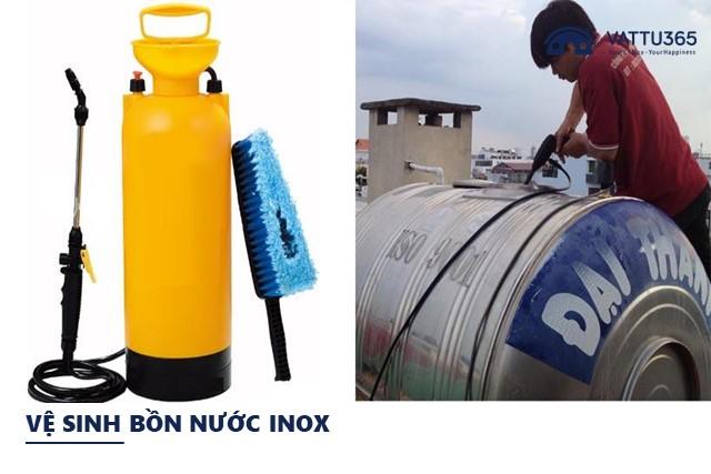 Cách vệ sinh bồn chứa nước Inox đúng cách