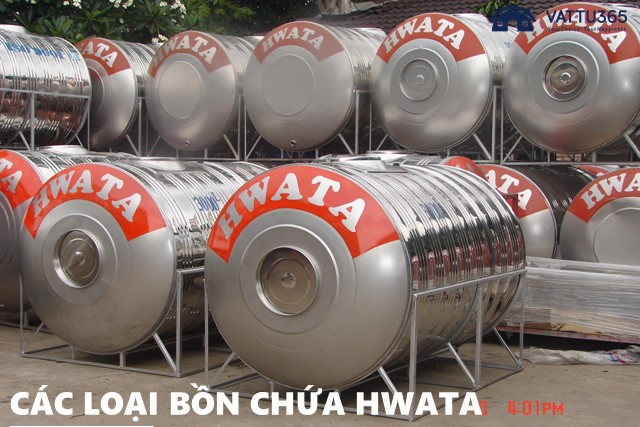 Bồn chứa nước Hwata có mấy loại?