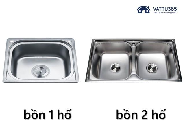Phân loại bồn rửa chén Đại Thành theo cấu tạo