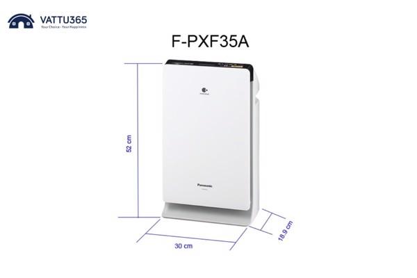 Máy lọc không khí Panasonic F-PXF35A-G trắng