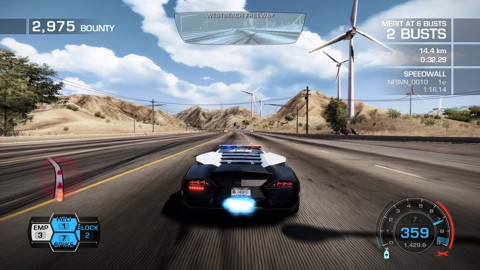 Gameplay : [HOT PURSUIT] : Phân tích màn đua SHOW OF FORCE - 01:06:91