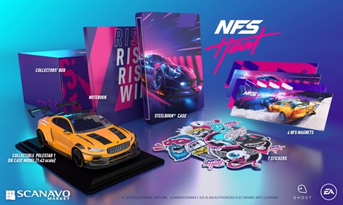NFS Heat 2019 : Collector's Edition